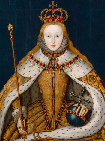 Artista inglés desconocido, 'Queen Elizabeth I' [Reina Isabel I], c. 1600. © National Portrait Gallery, Londres