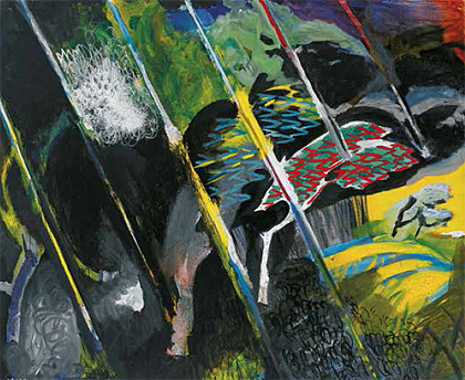 """Viento y lluvia II"" [Wind and Rain II], 1983-1986"