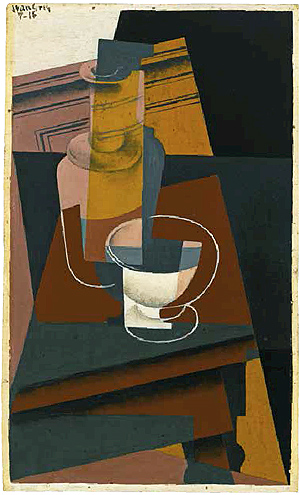 """Carafe et bol"" [Carafe and Bowl], 1916"