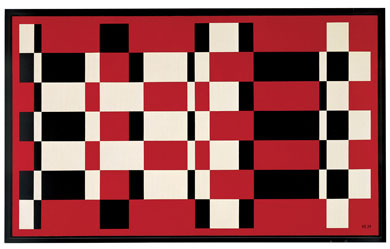 Red, White & Black Bars