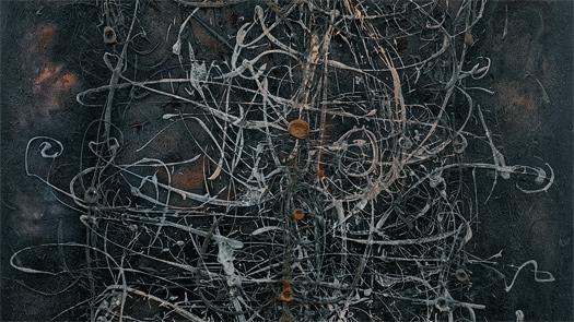 Modest Cuixart, Fragmento de'Pintura', 1959. Colección Fundación Juan March, Museu Fundación Juan March, Palma