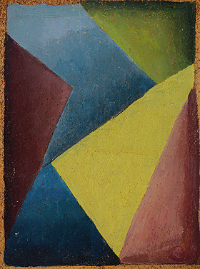 """Composición"" [Composition], ca. 1935 (front). Private collection © Fundación Esteban Lisa"