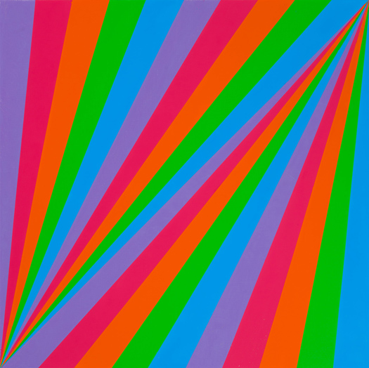 Max Bill, rhythmus in fünf farben [ritmo en cinco colores], 1985