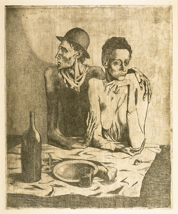 Le repas frugal - Picasso