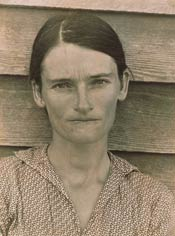 Allie Mae Borroughs, wife of a cotton sharecropper, Alabama