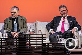 Joseph Weiler y Miguel de Lucas, entrevistados por Antonio San José e íñigo Alfonso