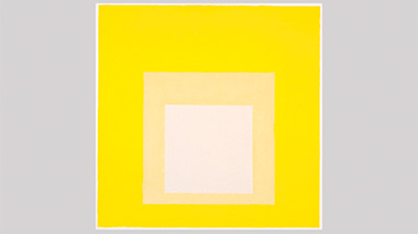 Josef Albers. Estudio para Homenaje al cuadrado: Ahora, 1962. The Josef and Anni Albers Foundation/VEGAP Madrid, 2014