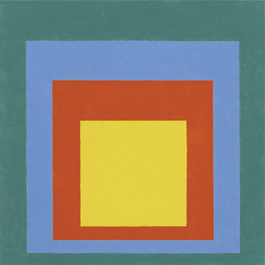 Josef Albers, Homenaje al cuadrado, 1950. The Josef and Anni Albers Foundation/VEGAP, Madrid, 2014