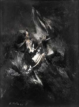 Black and White Painting, 1960