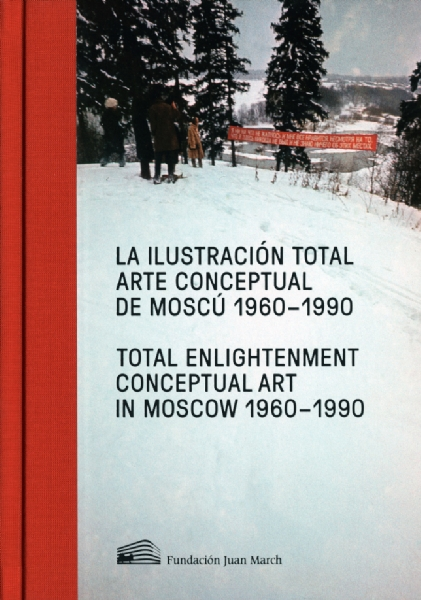Exhibition catalogue front cover: TOTAL ENLIGHTENMENT