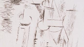 >Museo de Arte Abstracto Español: Grabados de Picasso: Picasso cubista (1909-1915)