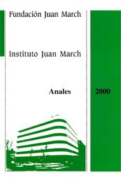 Cover photo, annals Annuals 2000