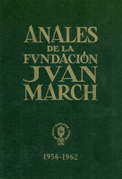 Anales, report on activities carried on since 1956