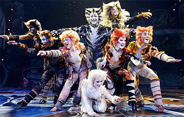 Cats (2003). Teatro Coliseum, Madrid.